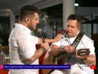 Em live com 1 milhão de pessoas, Bruno diz que ama amigo pra caralho e nega fim da dupla.