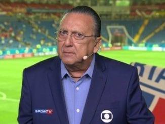 Principal narrador da TV Globo, Galvão Bueno vai participar de casa da reexibição de final da Copa do Mundo.