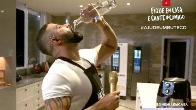 Conar questiona estímulo ao consumo excessivo de bebida alcoólica e falta de controle ao acesso de menores nas lives do cantor Gusttavo Lima.