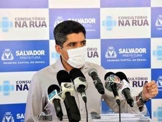 Prefeito de Salvador, ACM Neto lamenta postura do presidente Jair Bolsonaro na luta contra a pandemia de covid-19 e cobra alinhamento.
