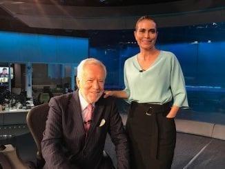 """Após ser chamado de """"gagá"""" pela apresentadora da Globo, Giuliana Morrone, o jornalista Alexandre Garcia diz que vai se defender em vídeo no youtube."""