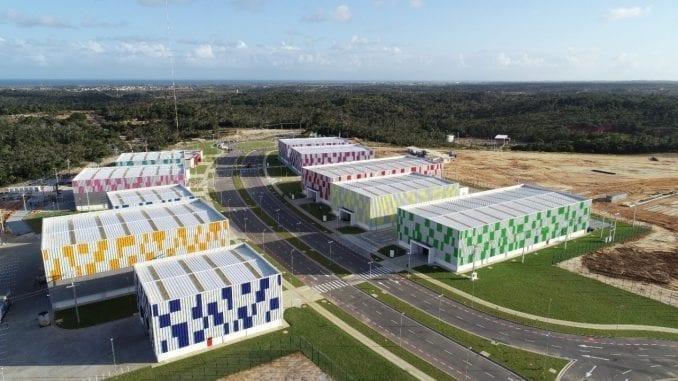 Cimatec Park, onde será instalada fábrica da Bioenergy. Empresa investe R$ 60 milhões em Camaçari para fazer 100 respiradores/dia a partir de junho. Equipamento vai custar três vezes menos que similar chinês.