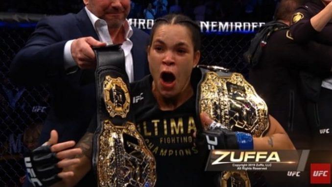 Homem apostou quase R$ 5 milhões em Amanda Nunes, que venceu luta no primeiro UFC após a reabertura das casas de apostas nos EUA.